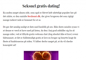 dating på nettet bump dating